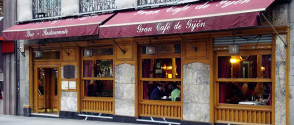 Fachada Café Gijón