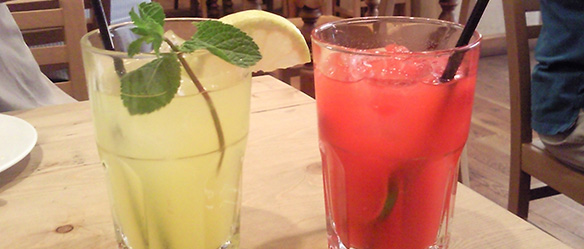 bebidas verão