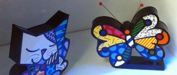 Esculturas Romero Britto
