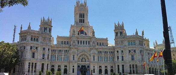 Fachada do Palacio de Cibeles