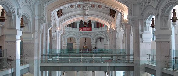 Arquitetura interior do Palacio de Cibeles